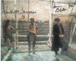 Tom Baker, Louise Jameson  -  Multi signed DOCTOR WHO Genuine Signed Autographs 10 x 8 COA 10272